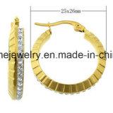De Beste Oorring van uitstekende kwaliteit van de Juwelen van het Roestvrij staal van de Juwelen van de Prijs (ERS6952)