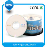 CD-R stampabili del getto di inchiostro bianco CD del fronte pieno dello spazio in bianco del disco di media