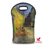 Double type de peinture d'Emballage-Pétrole de vin/bouteille d'eau du néoprène