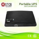 110V, 220V AC 12V DC Mini-UPS com bateria de lítio 4400mAh/8800mAh