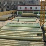Tubo de tratamiento de agua o de aguas residuales de fibra de vidrio