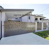 Разделительная стена сада виллы силы Coated алюминиевая