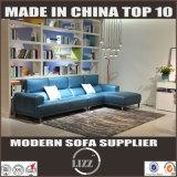 Guangzhou Meubles de salle de séjour canapé en cuir Forme L