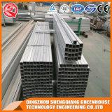 Handels-PC Blatt-Gewächshaus mit Stahlrahmen