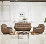 Présidence de sofa de salle de séjour de bâti en bois de sofa de maison de tissu de mode (UL-NS235)