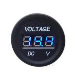 Voltímetro de monitor digital LED 12V-24V de monitoramento de voltagem de automóveis