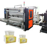 Linha de produção dobrável de tecido facial Máquina de conversão de papel de tecido
