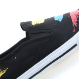 2017 Lienzo clásico vulcanizado hombres zapatos de moda