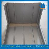 屋根または壁のクラッディングのためのアルミニウム波形の金属の屋根ふきシート