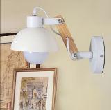 Lámpara de pared moderna de madera y del metal, leyendo la luz para el hogar