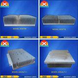 Aluminium extrudé Profil industriel dissipateur de chaleur pour les périphériques de puissance Laser