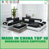 Modernes Hauptmöbel-echtes Leder-Ecken-Sofa-Bett