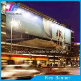 Banner Flex retroiluminado laminado para impressão
