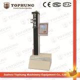 Micro-Computer Single Column 5kn Rubber / Plastic Tensile Tester (Tophung)