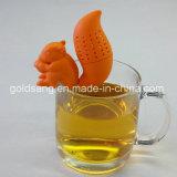 Tè nuovo di vendita caldo Infuser del silicone dello scoiattolo del commestibile di stile