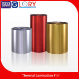 Pet/BOPP Multicolor stratification thermique films métallisés de haute qualité
