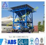 beweglicher Zufuhrbehälter 30-60cbm für das Entladen der Bulkladung