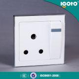 Переключатель и гнездо цены по прейскуранту завода-изготовителя высокого качества типа B9015 15A Igoto великобританские