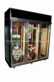 Flower Shop 4 Portas Flor Display Chiller