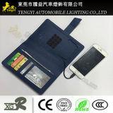 De nieuwe Portefeuille van Pu met de Bank 4000mAh 6500mAh van de Macht van de Batterij