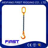 Un'imbragatura a catena di sollevamento ad alta resistenza del piedino