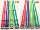 Yxl-459 comerciano il cinturino all'ingrosso di vigilanza, cinturino di vigilanza di nylon per il Wristband impermeabile della vigilanza di NATO del nylon del quarzo dell'orologio di sport