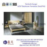 Мебель спальни MDF домашней мебели Ikea просто (F19#)