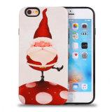 Móvil Cubierta de Navidad Hombre de TPU + PC caso para iPhone7 7plus