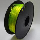 Filamento flexible de la alta calidad para la impresora 3D con el certificado del alcance