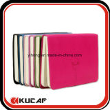 Изготовленный на заказ карманная тетрадь адресной книга PU размера