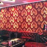 内壁KTV/ホテルのための装飾的なPVC壁ペーパー
