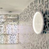 Lámparas embutidas circulares modernas del techo del modelo de flor de la fibra de vidrio LED de la originalidad