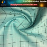 ткань пряжи полиэфира 300d покрашенная с серебряной пряжей для пальто (Анти--UV)