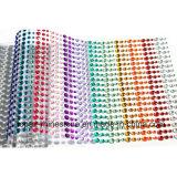 De Stickers van het bergkristal allen in (tP-Gekleurde) Bergkristallen van Één Gem van het Blad de Zelfklevende Kleurrijke