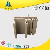 Profil en plastique de guichet de PVC d'extrusion d'environnement léger