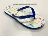 EVA popular playa de dama moda colorida Flip Flop