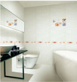Baumaterial-glasig-glänzende wasserdichte keramische Wand-Innenfliese 300X600mm