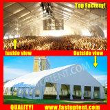 結婚式200の人のSeaterのゲストのための明確なカーブの玄関ひさしのテント