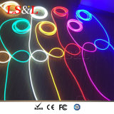 RGB LED impermeável de faixa de luz néon flexível com Marcação ce&RoHS