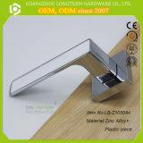 Fechaduras de móveis separadas Decorar fechaduras de porta de banheiro com liga de zinco e peça de plástico