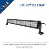 Alimentador 100% del precio de fábrica de Lmusonu ATV 4X4 barra 120W de la luz LED del coche de 24.8 pulgadas
