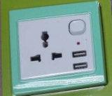 Стенные розетки USB, всеобщая стенная розетка USB для мобильного телефона