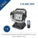7pouce 50W CREE LED de contrôle à distance sans fil Search Light 200m