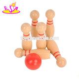 最もよい販売は楽しみW01A303のための木の小型ボーリングのゲームをからかう