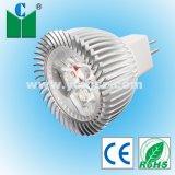 Luce GU5.3 del punto di alto potere 3W LED