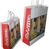 Sacos recicl luxo do papel de embalagem