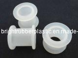 Petite virole blanche de silicones de FDA