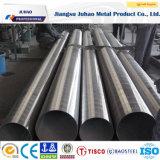 Tube de soudure d'acier inoxydable (201 304 316L 410S 2205)