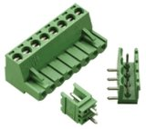 Blocchetto terminali Pluggable elettrico approvato del PWB del VDE dell'UL di RoHS