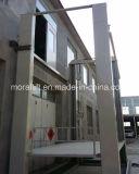Elevador vertical residencial da plataforma do carro